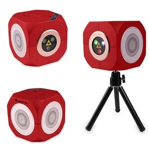 Image 5 - ALIEN RGB Oplaadbare Draadloze Bluetooth Speaker Laser Projector Podiumverlichting Effect Voor Party Outdoor DJ Disco Vakantie Xmas