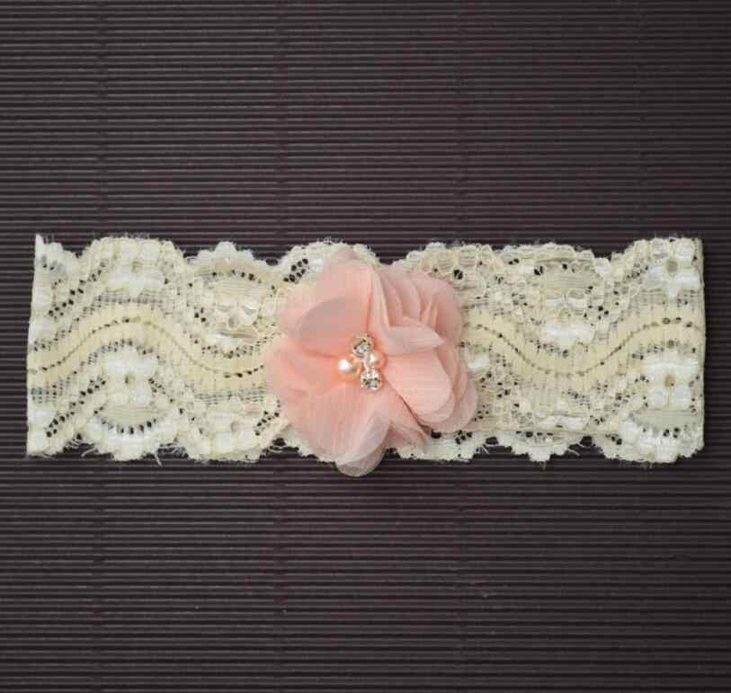 1 ชิ้น MAYA STEPAN Headwrap ดอกไม้เด็กผ้าฝ้ายเด็ก Headwear หญิงดอกไม้ Hairband Head Band ทารกแรกเกิดลูกไม้