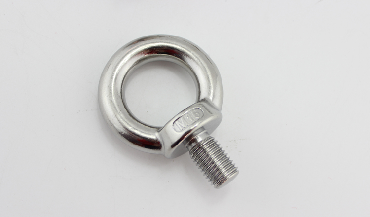 M8 Eye Bolts 304 Stainless Steel Ring Bolts Welded Closed Screw Rod Eye Screw Eye Bolts Corrosion Resistant 5PCS