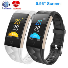 ФОТО smart bracelet wris heart rate monitor blood pressure fitness activity tracker wristband xiao mi band 2 for android ios facebook