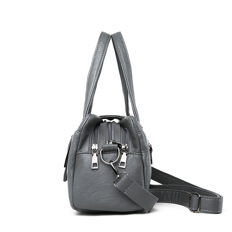 Image 4 - Fashion Pillow Women Handbags American Popular Purple Bag New Simple Leisure Lady Shoulder Bag Casual Personality Messenger BagShoulder Bags   -