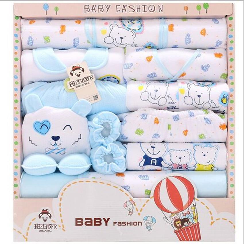 18 unidades regalo recién nacido Sets algodón grueso caliente Otoño e  Invierno Ropa femenina de Bebé bebé infantil Ropa interior ce412a2bcf1