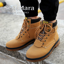 sexemara Outdoor Genuine Leather Military Assault Tactical Boots Breathable Anti-Slip Men Fishing Travel Hiking Shoes