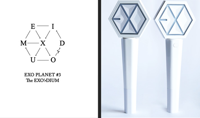 EXO Concert Luminous Lightstick