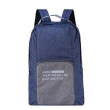 Новые путешествия пакет необходимые сумка многофункциональные водонепроницаемый может тяга складной рюкзак бесплатная доставка