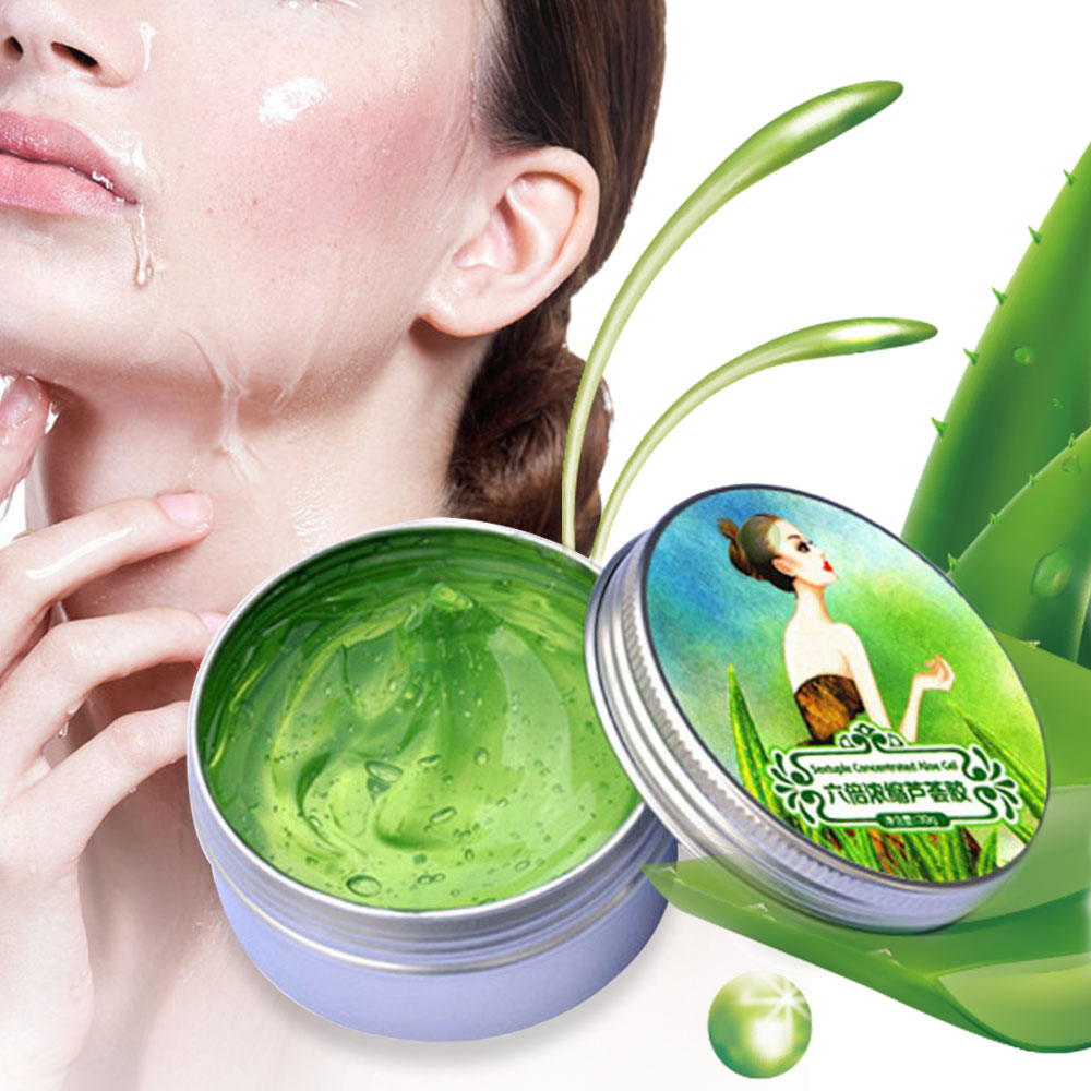 Day-Cream Remove Aloe-Vera-Gel Sunscreen Skin-Care Acne-Face Moisturizing 100%Natural