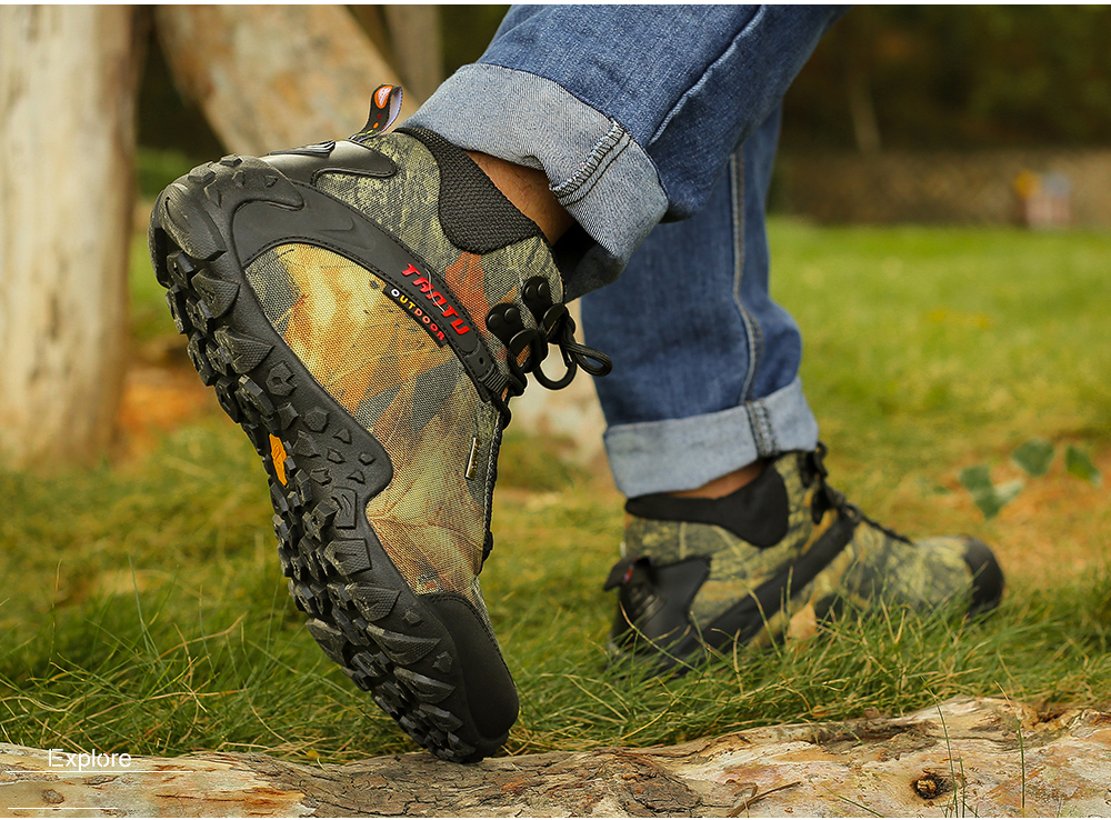 Outdoor Camouflage Tactical Sport Men\`s Shoes (19)