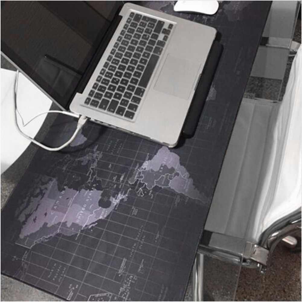 Moda sprzedawca stara mapa świata podkładka pod mysz duża podkładka pod mysz podkładka pod mysz do komputera i notebooka podkładki pod mysz do gier do myszy Gamer nowość