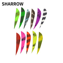 30pcs 2 Inch Archery Arrow Feather Mixed Color Turkey For Outdoor Hunting Shooting Crossbow
