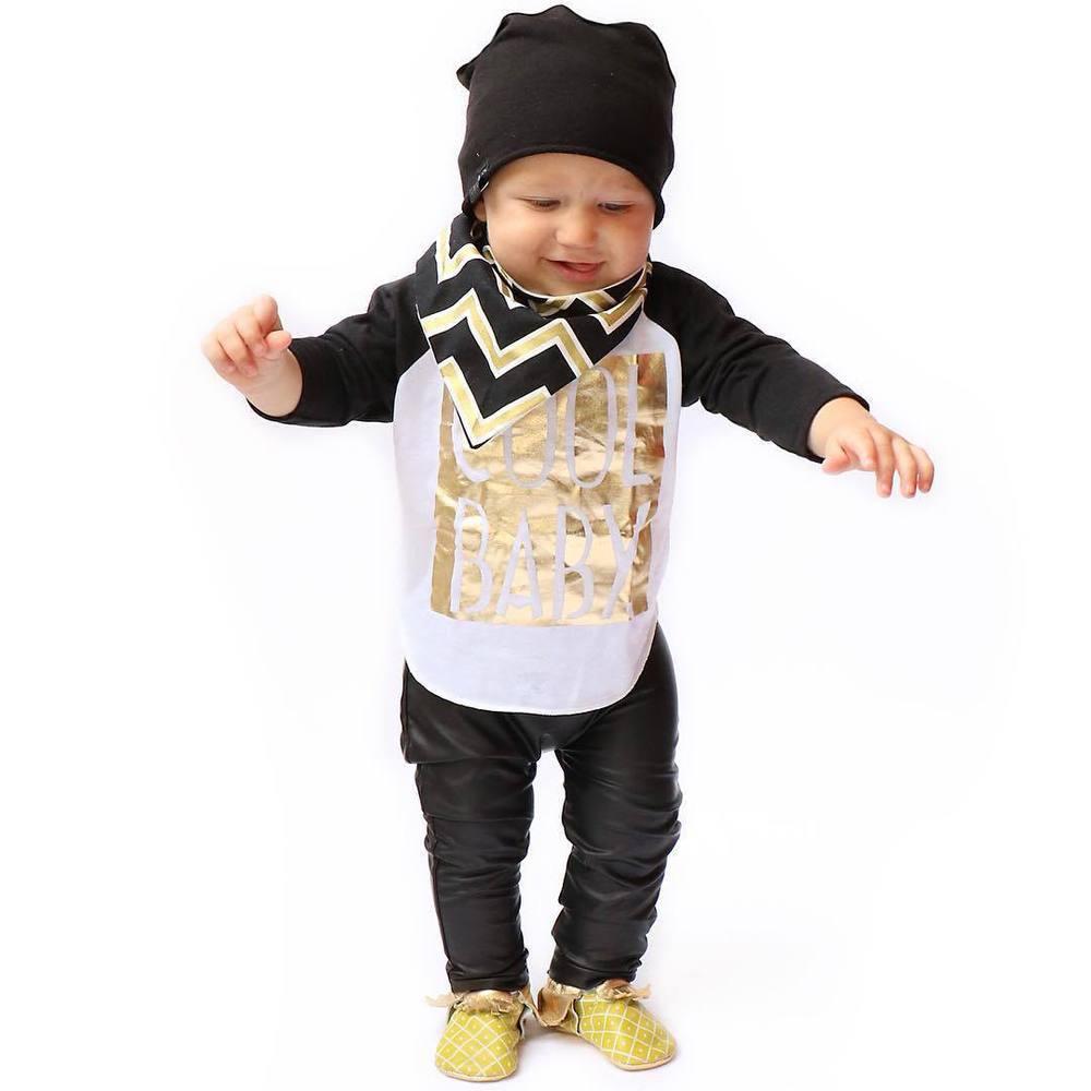 Infant Leather Leggings