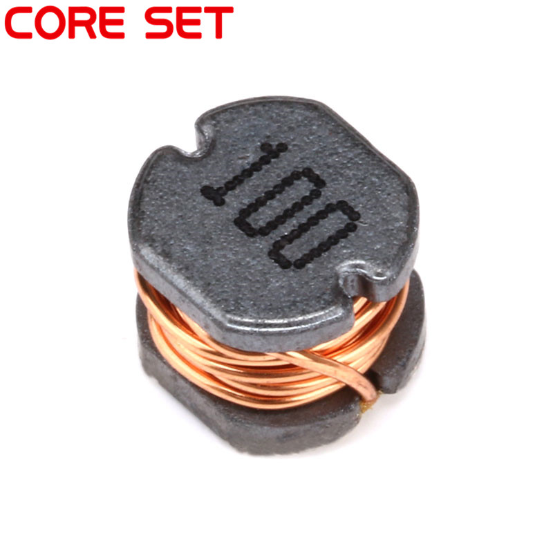 10pcs/lot CD54 10UH SMD Power Inductor 100 2A Chip inductor 500pcs 1608 0603 2 7uh chip smd multilayer inductor