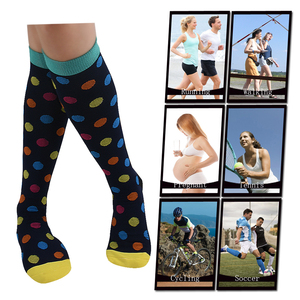Image 4 - Compression Socks (3Pairs), 20 30 mmhg is BEST Graduated Athletic & Medical for Men & Women, Running, Flight, Travels Stocking