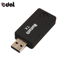 EDAL Wireless 2-in-1 USB Bluetooth Audio Transmitter  4.0 Receiver Music Adapter For TV Mp3 PC Speaker 3.5mm