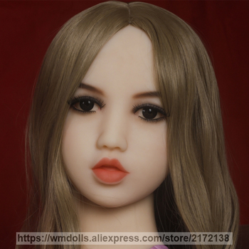 WMDOLL Sex Dolls Head For Oral Sex Lifelike Adult Sexy Pout Realistic Silicone Love Doll