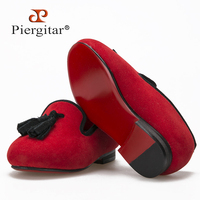 New Style Parental Shoe Same Men Loafers Design Child Velvet Rivet Shoes Handmade Cotton Comfortably Lining