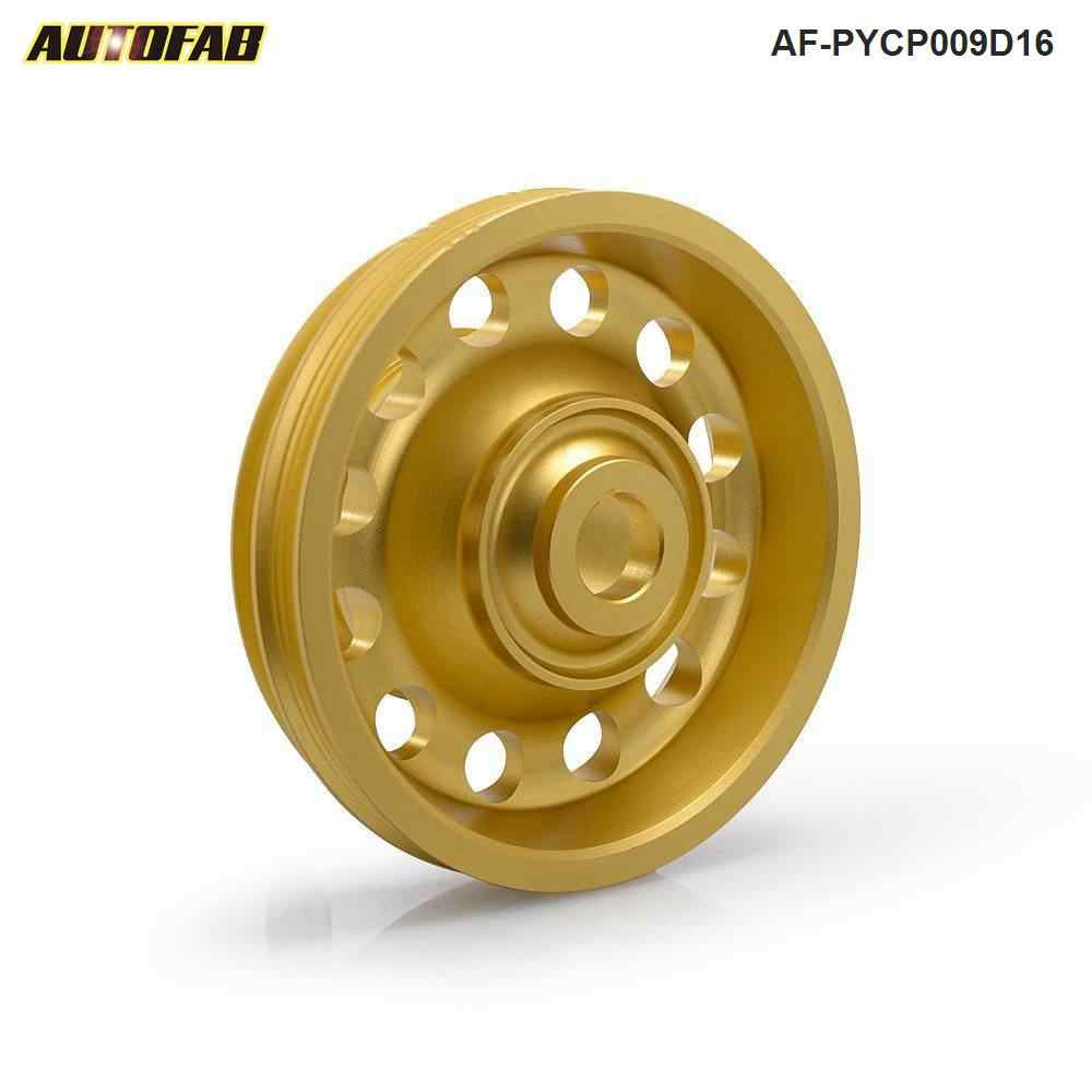 medium resolution of belt crankshaft pulley light weight aluminum for honda 92 95 eg ej civic sohc af