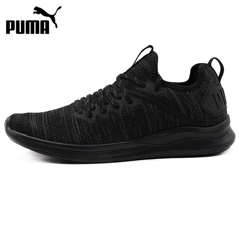 Original New Arrival 2018 PUMA IGNITE Flash evoKNIT Mens Running Shoes Sneakers