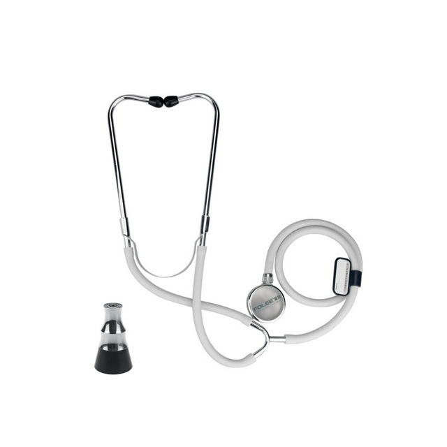 Free Shipping Professional Dual Head Medical Cardiology Cute EMT Stethoscope for Doctor Nurse Student Chest Piece Medical Device
