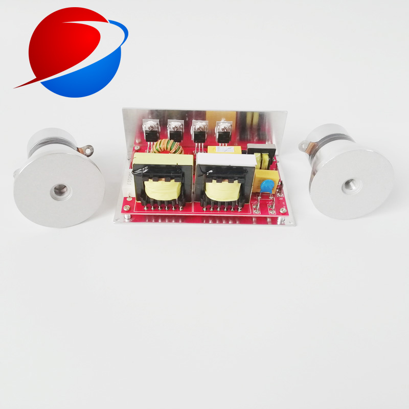 Ultrasonic Jewelry Cleaner circuit board drive 100W/28KHz 220V PCB included 2 ultrasonic transducer 28KHz