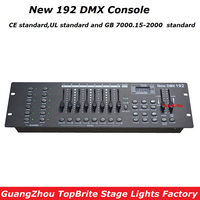 High Quality New 192 DMX Console Stage Lighting Equipments DMX Controller For LED Par Moving Head
