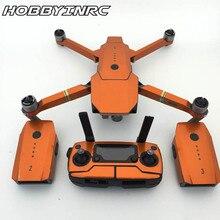 Hobbyinrc 1 Unidades fluorescencia control remoto cuerpo brazo conjunto completo etiqueta engomada fresca impermeable para DJI Mavic pro drone
