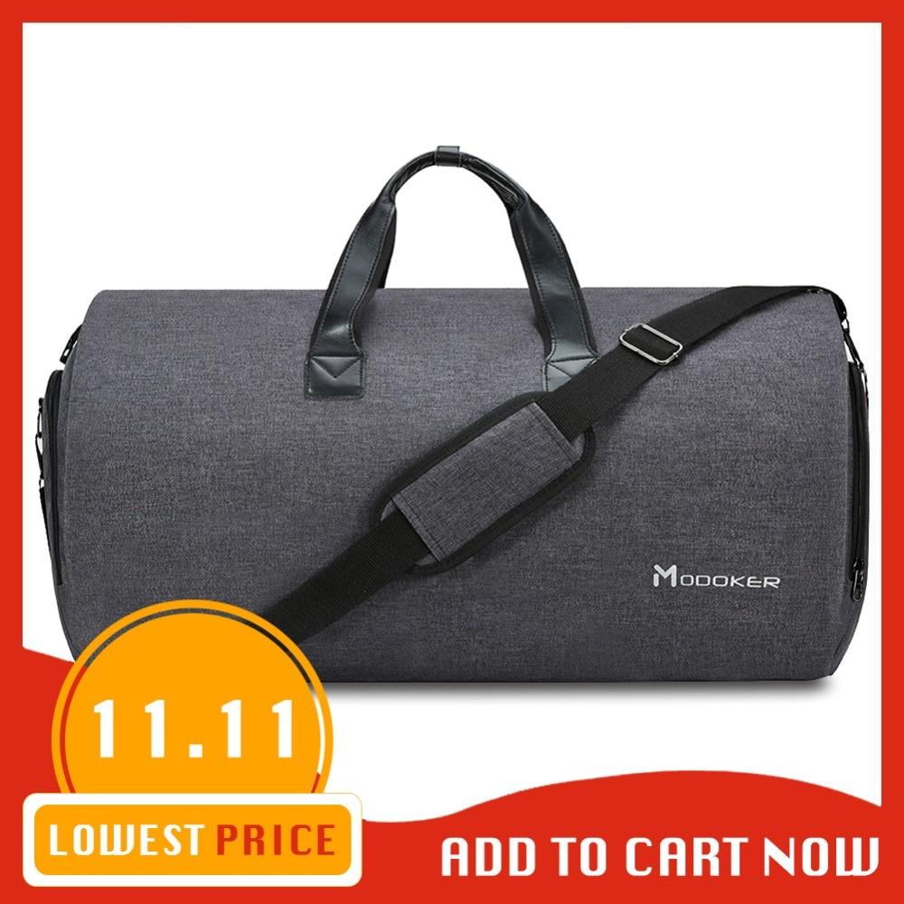 Modoker New Travel Sacchetto di Indumento Cinghia di Spalla Borsa Da Viaggio di Affari di Modo di Portare Avanti Appeso Abbigliamento Tasche Multiple