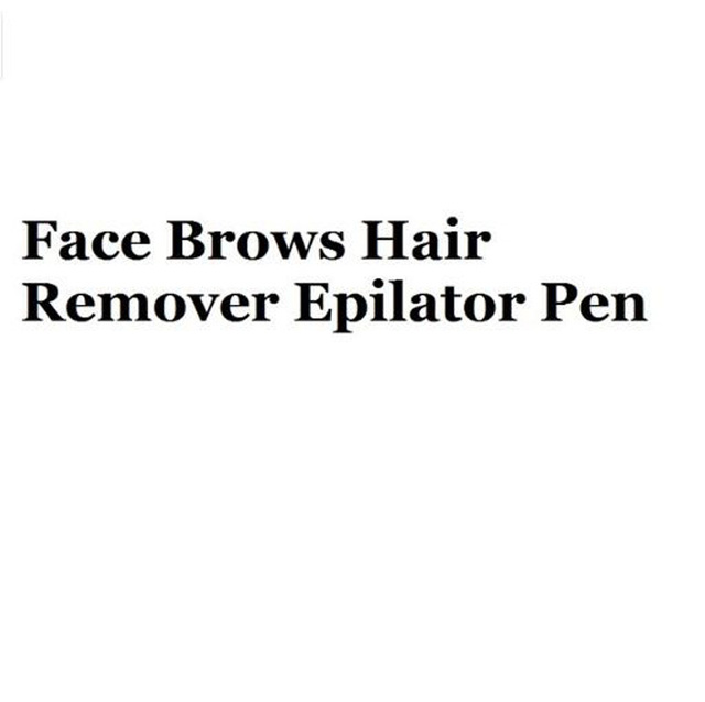 Flawlessly Brows Eyebrow Trimmer Electric Hair Remover Painless Shaver Painless Personal Face Care Instant Hair Remover Tool