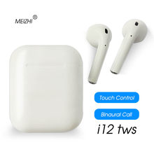 i12 TWS i10 Wireless Bluetooth Earphone 3D Stereo Earbud Headset With Charging Box Mic for Smart Phone ear air pods i10 tws i12(China)