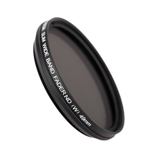 49mm Slim Fader Variable ND Filter Adjustable Neutral Density ND2 to ND400