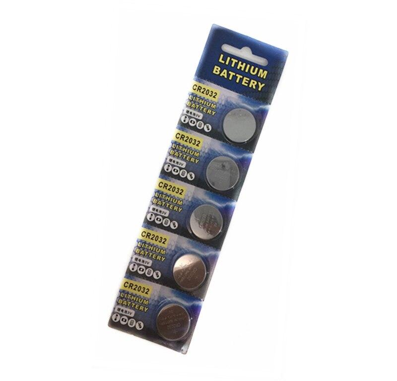 5 шт. батарейки CR2032 BR2032 DL2032 ECR2032, литиевая батарея 3 в CR 2032 для часов, электронных игрушек, дистанционного управления автомобилем
