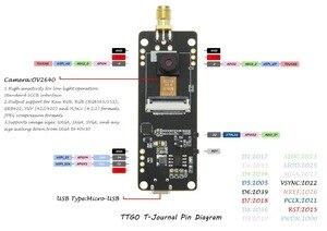 Image 5 - LILYGO® TTGO T Journal ESP32 Camera ESP32 OV2640 Camera SAM Wifi 3dbi Antenna 0.91 OLED ESP32 Camera Board