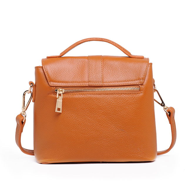 Korean Style Designer Women's Genuine Leather Cowhide Women Handbags Fashion Messenger Crossbody Tote Bags High Quality Ladies