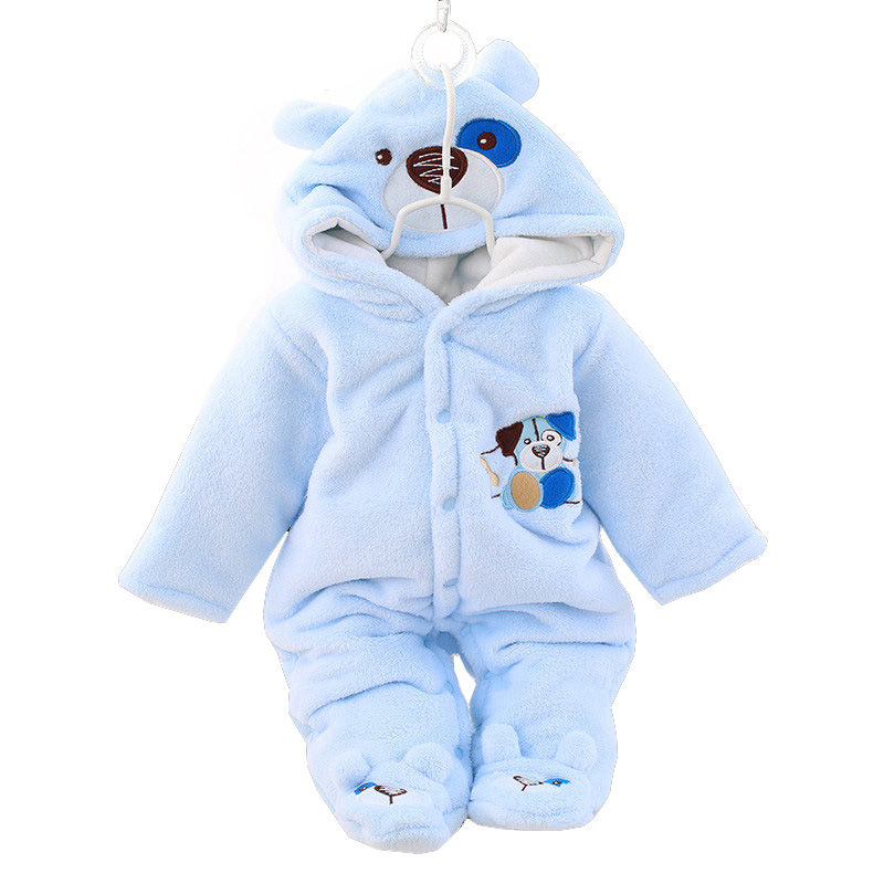 BibiCola newborn baby   rompers   toddler boys girls winter jumpsuit   rompers   clothing infant babies cartoon snowsuit outfits clothes