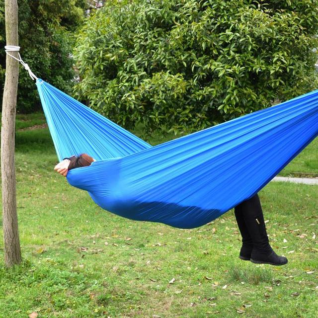 clearance outdoor double parachute cloth hammock single  room dormitory cheap widen send rope hammock clearance outdoor double parachute cloth hammock single room      rh   aliexpress