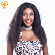 SSH Kinky Straight Remy Hair 360 Lace Frontal Wig With Baby Human Wigs