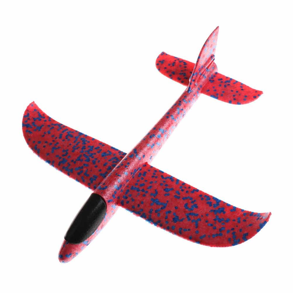 3 Gaya Pesawat Peluncuran Tangan Melempar Pesawat Glider Inersia Busa EVA Pesawat Model Pesawat Mainan Luar Ruangan Mainan Mainan Edukatif