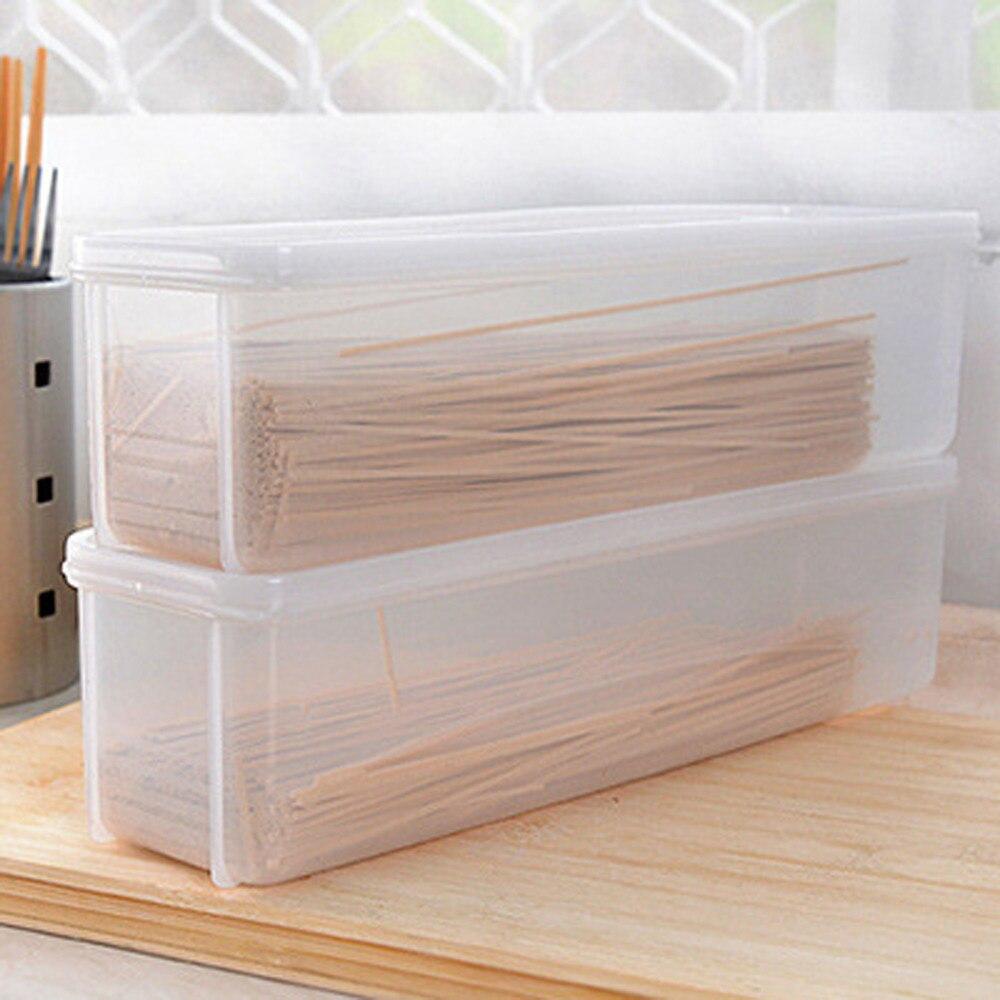 Noodles storage box single layer refrigerator food airtight storage container box boite de - Boite plastique cuisine ...