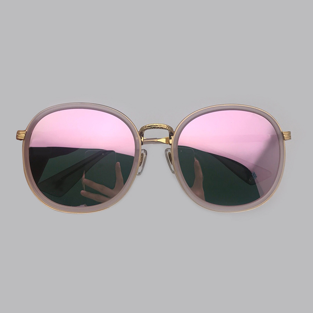 2019 New Fashion Women Sunglasses Brand Designer High Quality Acetate mix Alloy Frame UV400 Protection Lens Shades Oculos De Sol