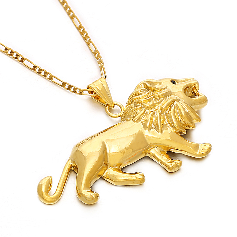 Ethlyn jewelry lion necklacependant for womenmengold color lions ethlyn jewelry lion necklacependant for womenmengold color lions head pendant animal jewelryafrica lion ethiopian gift p116 in pendants from jewelry aloadofball Choice Image
