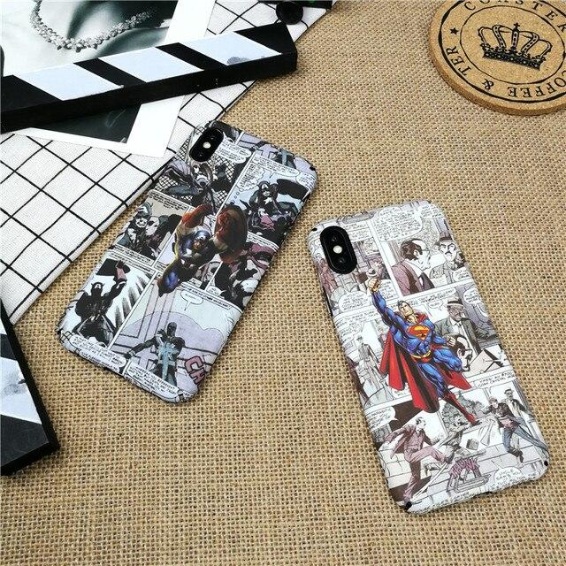 Luminous Marvel etui ze spidermanem dla iPhone 11 PRO X XS MAX XR 8 7 6 6s plus twarde plastikowe etui na telefon iron Man coque capa
