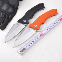 High quality 59-61HRC 8Cr18Mov blade bearing system folding knife utility tactical survival folding knife outdoor camping tools