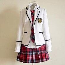 Новая школьная форма с длинным рукавом для начальной школы, японская школьная форма для студентов, британская школьная форма