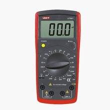Medidores modernos de inductancia UNI T UT601, probador de resistencia de UT 601, medidores de resistencia UT 601