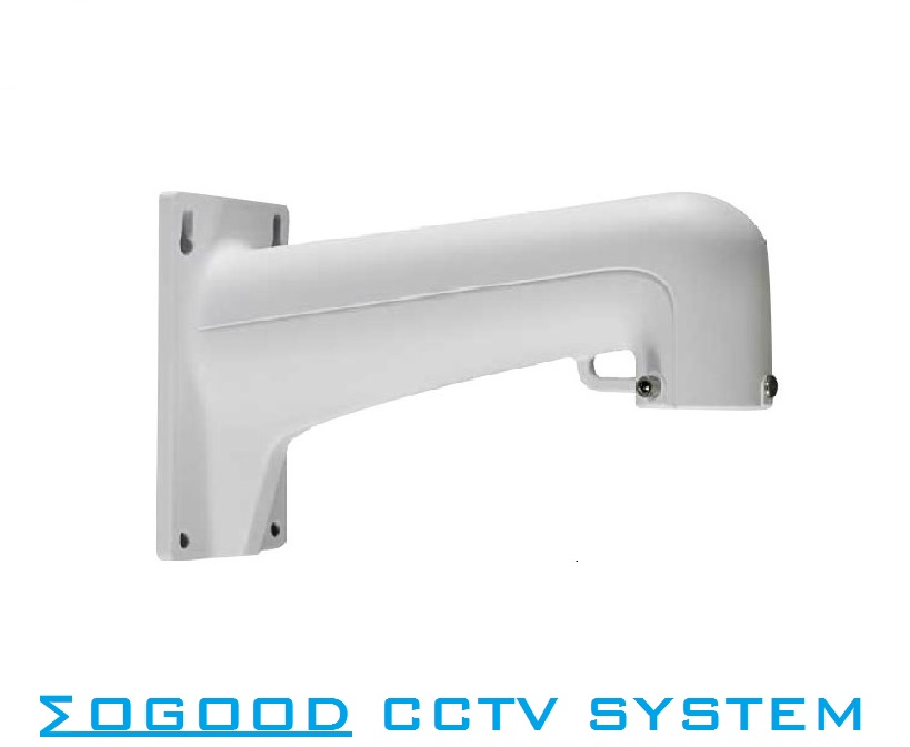 Hikvision DS-1602ZJ Bracket for 4'/5'/6' PTZ Camera Bracket for Outdoor/Indoor Wall Mount Aluminium Alloy