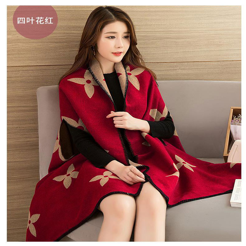 2019 Scarves Women Scarf Pashmina Cashmere Ponchos And Capes Top Quality Plaid For Ladies Pashmina For Dress Luxury Brand Scarfs