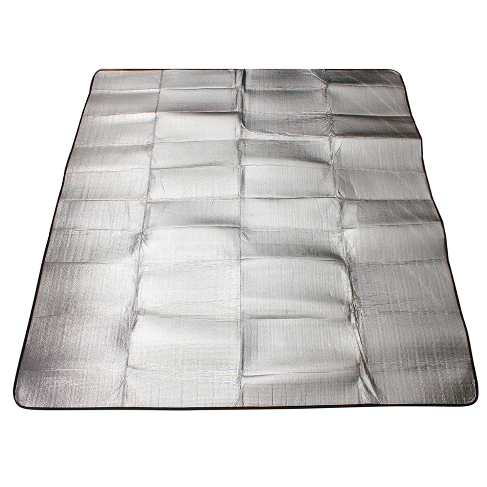 Waterproof 200 200cm Double Layer Aluminum Backing