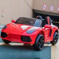 Детский электромобиль с дистанционным Управление дети Bluetooth ездить на авто детского претендует игрушки RC автомобиль электронная игрушка д