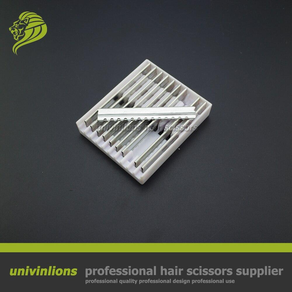 100 Pcs/lot Professional Hair Razors Blade Hair Cutting Razor Scissors Razor Thinning Hair Cutter Barber Hairdresser Supplies