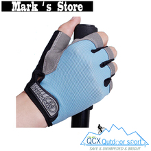 2016 Unisex Summer cycling Gloves Half Finger 3 Color Nylon MTB Bike Gloves For Fitness Breathable Sport Bicycle Gloves