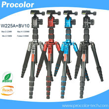 Professional Photographic Portable aluminum Tripod Change Monopod For Digital DSLR Camera Tripod Ball Head Monopod Changeable